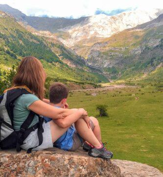 Llanos de Lalarri - Ruta en coche por el Pirineo Aragonés