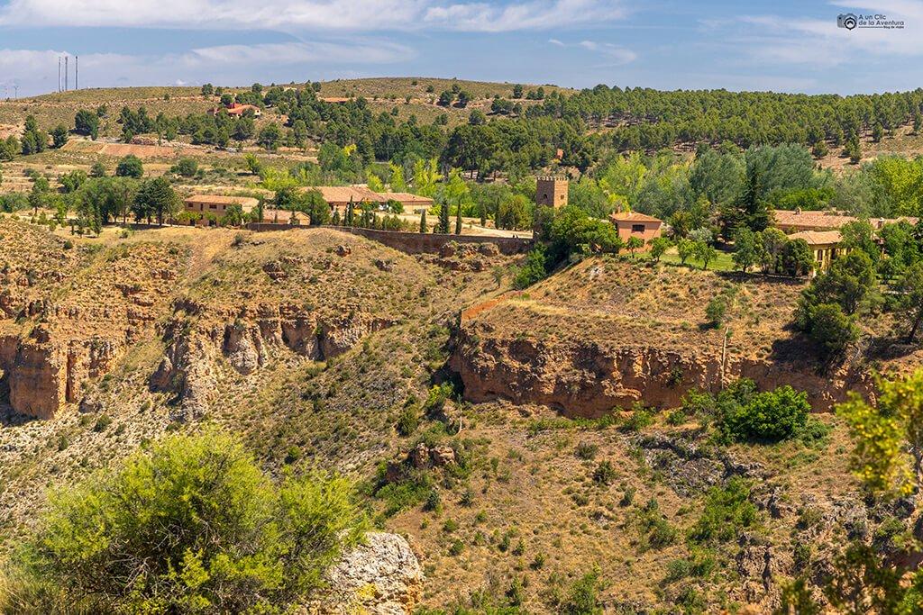 Vistas del Monasterio de Piedra desde el mirador