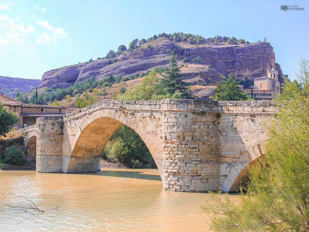 Puente de Abajo de Graus- ruta en coche por el Pirineo Aragonés