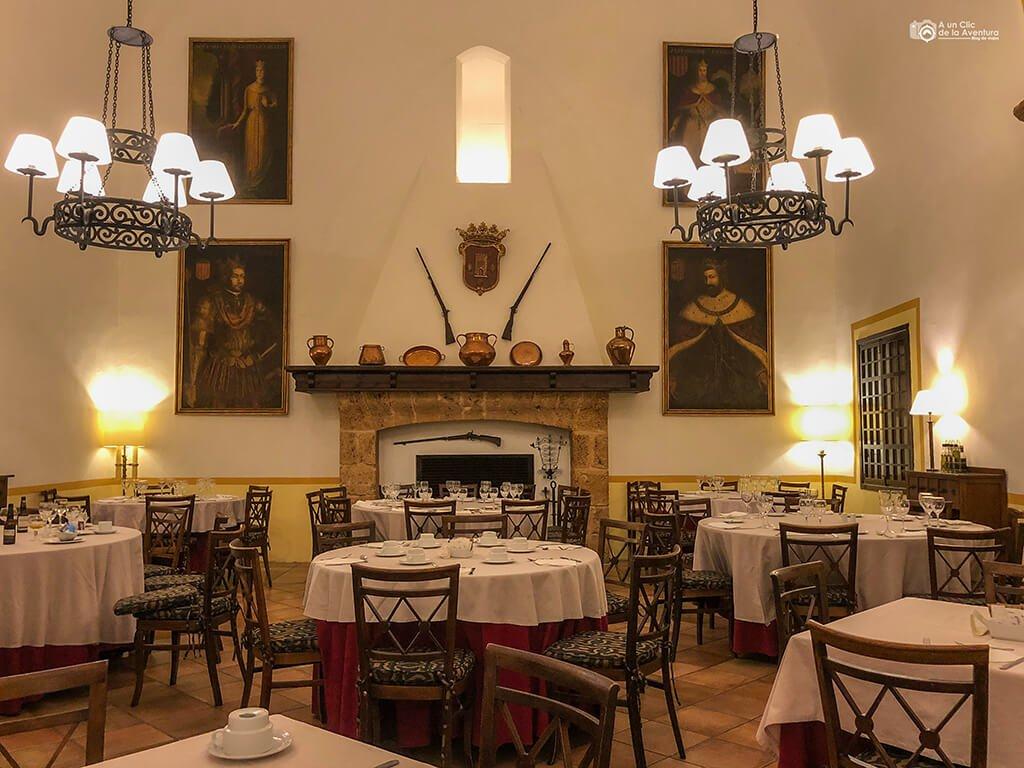 Restaurante Reyes de Navarra del Monasterio de Piedra