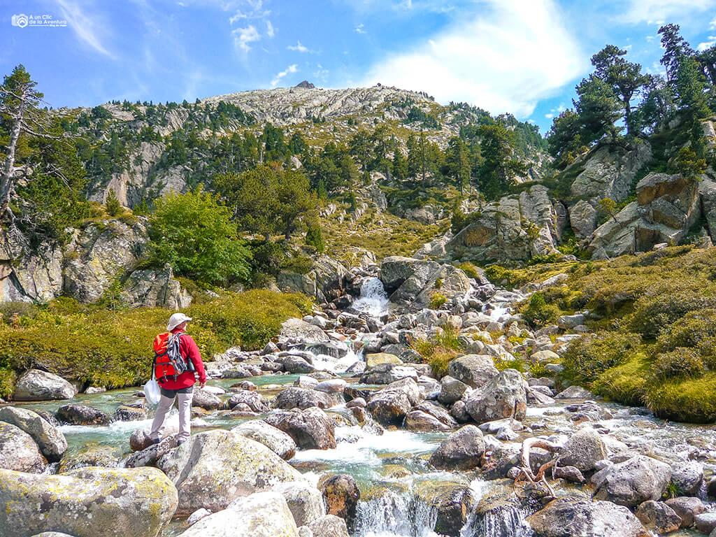 Ruta al Forau d'Aigualluts- ruta en coche por el Pirineo Aragonés