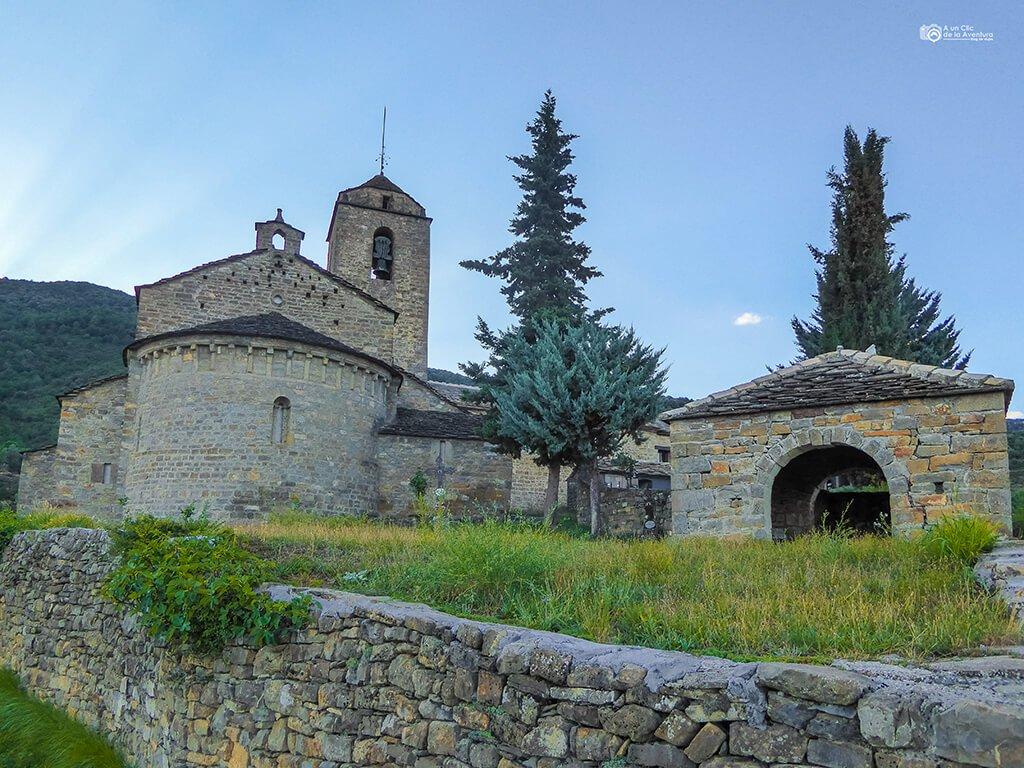 Iglesia de San Vicente de Labuerda