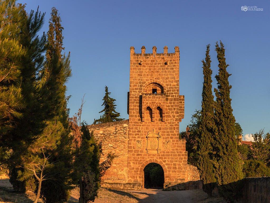 Torre del Homenaje del Monasterio de Piedra