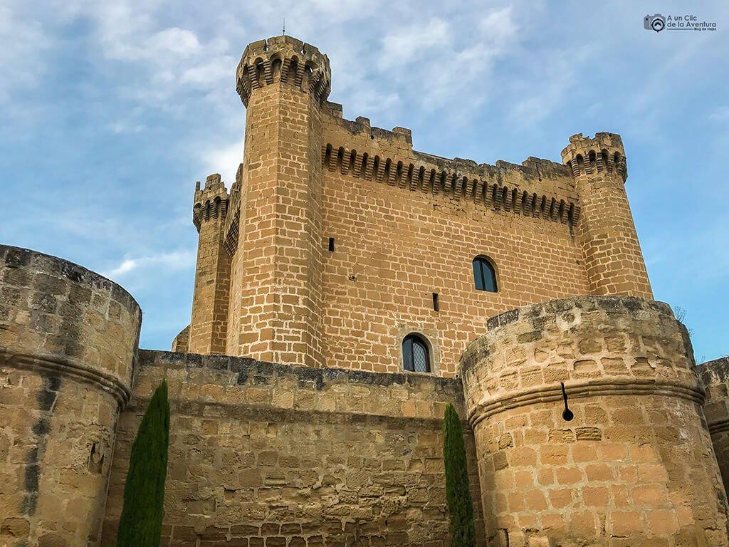 Castillo de Sajazarra, fin de semana en La Rioja Alta