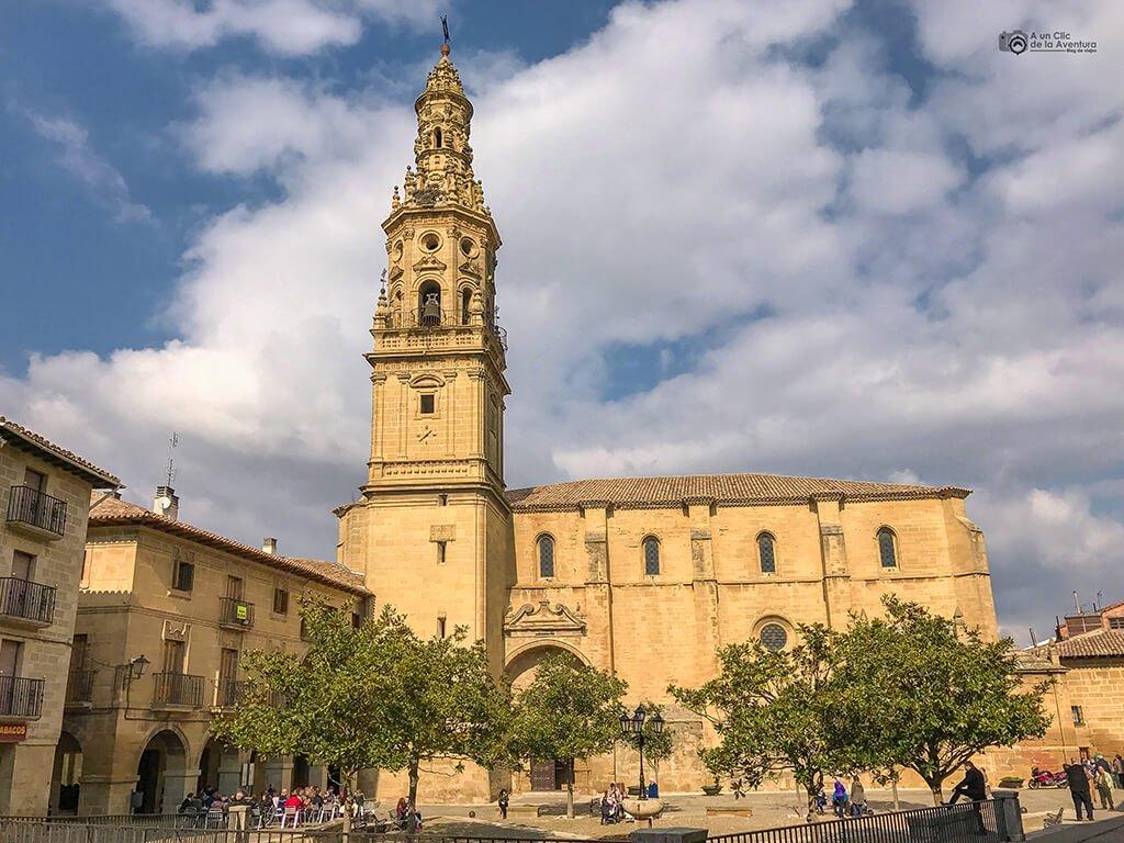 Iglesia de la Asunción de Briones, fin de semana en La Rioja Alta