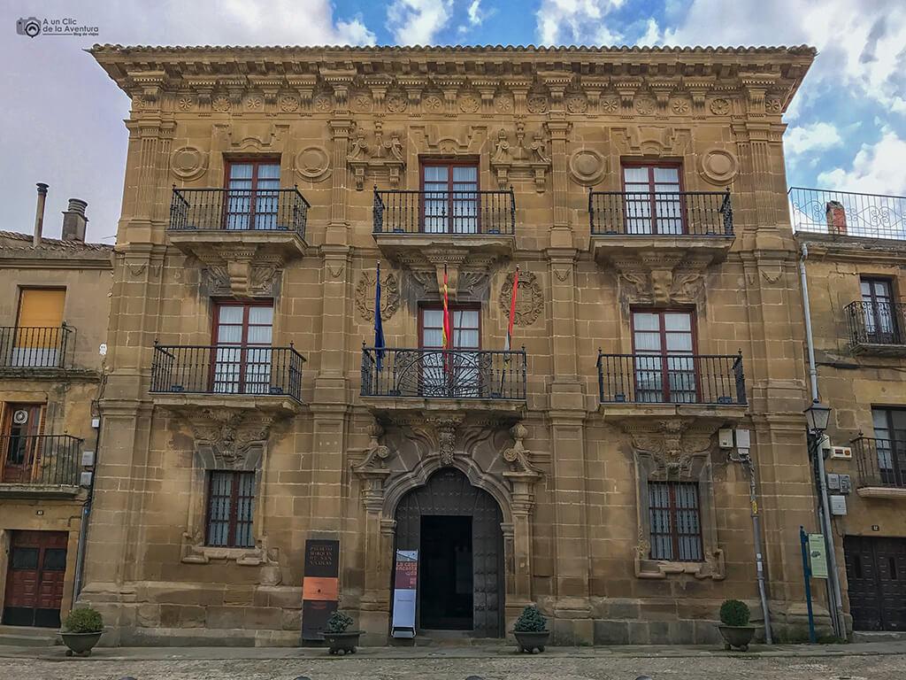 Palacio del Marqués de San Nicolás en Briones, fin de semana en La Rioja Alta