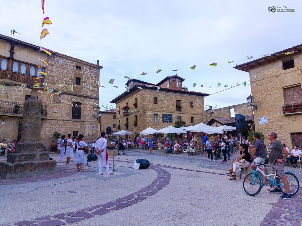 Plaza del Ayuntamiento de Sajazarra