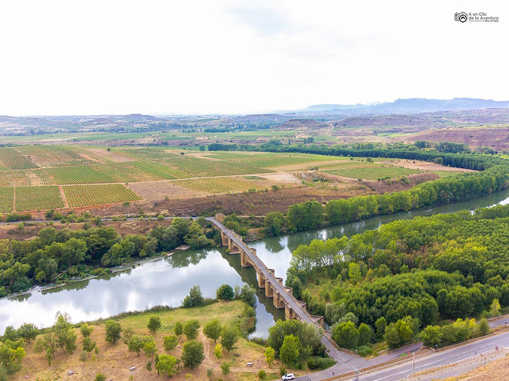 Puente medieval de San Vicente de la Sonsierra, fin de semana en La Rioja Alta