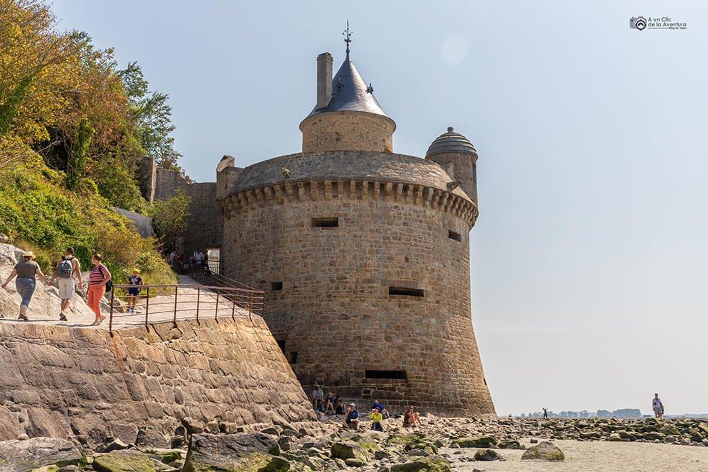 Torre Gabriel, visitar el Mont Saint-Michel