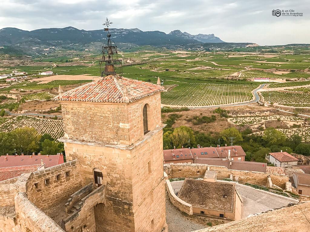 Torre del reloj de San Vicente de la Sonsierra