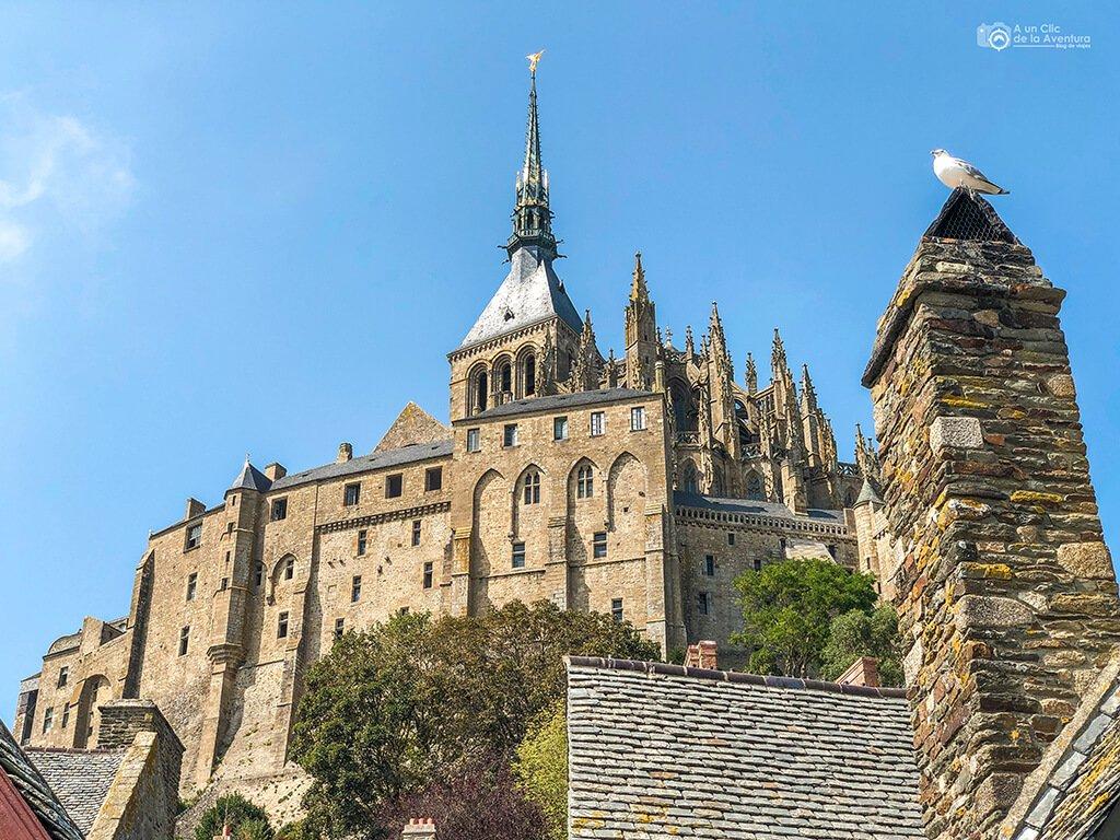 Abadía gótica o Maravilla del Mont Saint-Michel