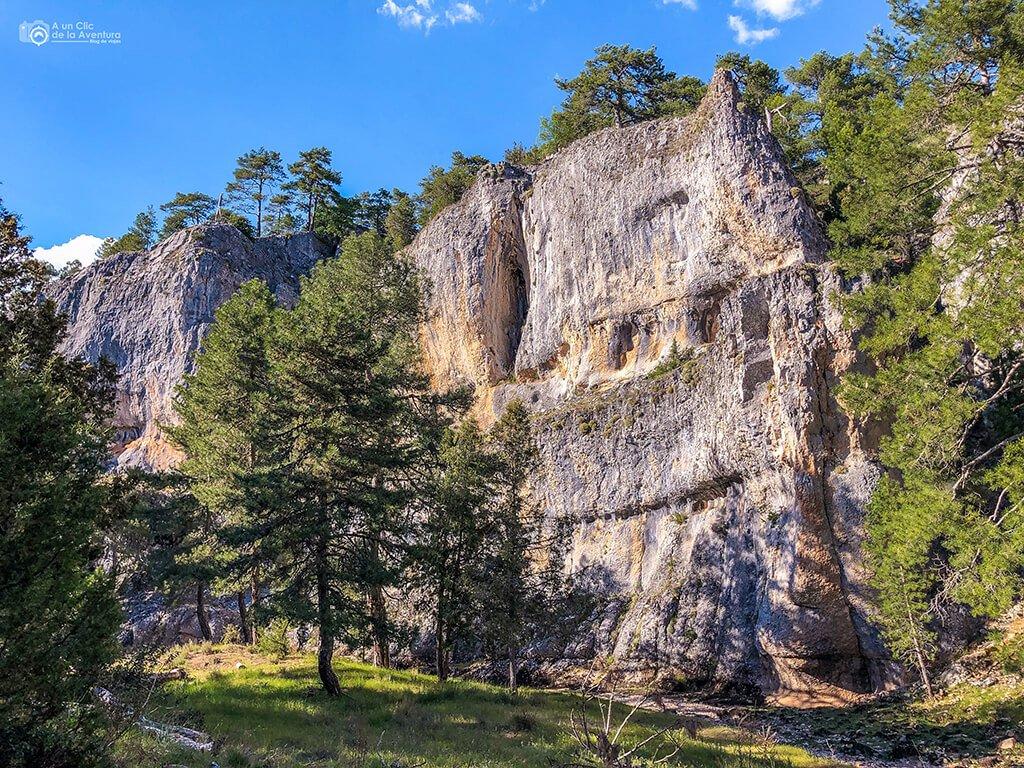 El Apretadero, Cañón del Río Lobos