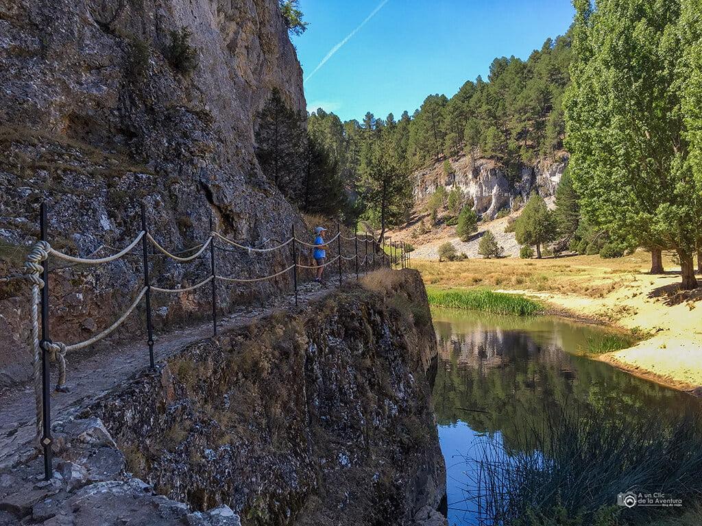 Pozo Perín ruta Cañón del Río Lobos