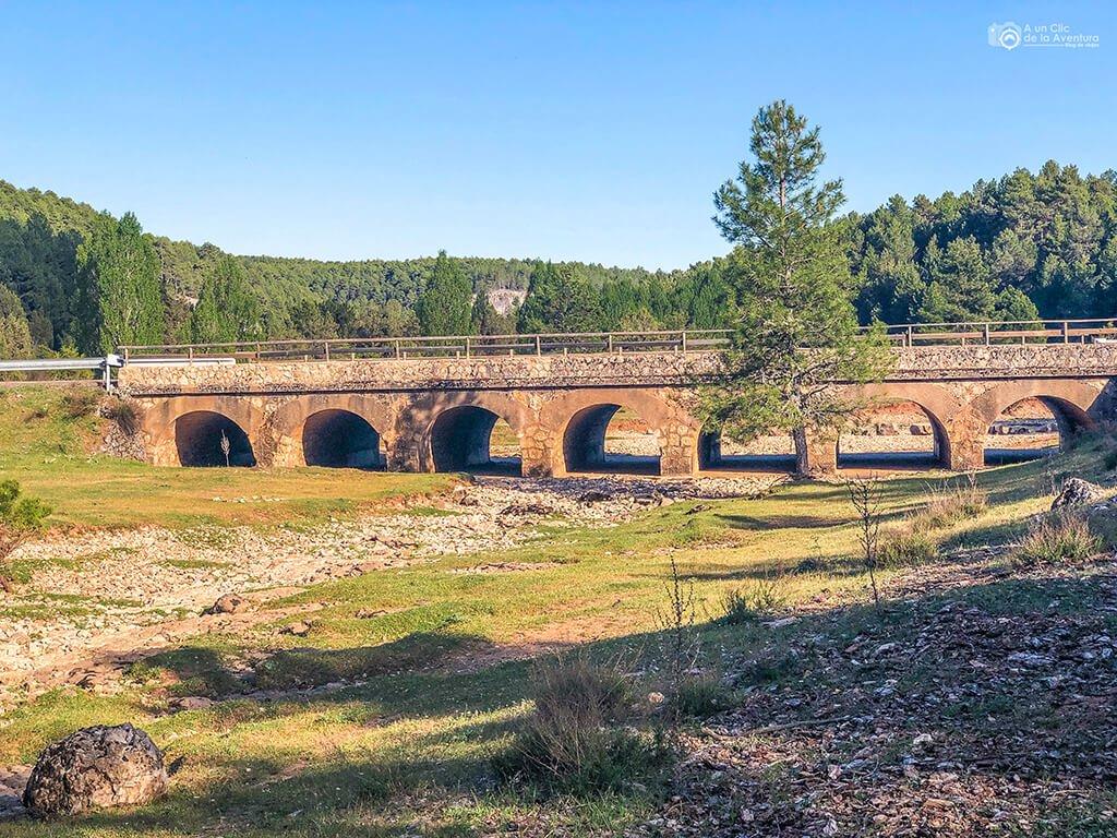 Puente de los siete ojos Cañón del Río Lobos