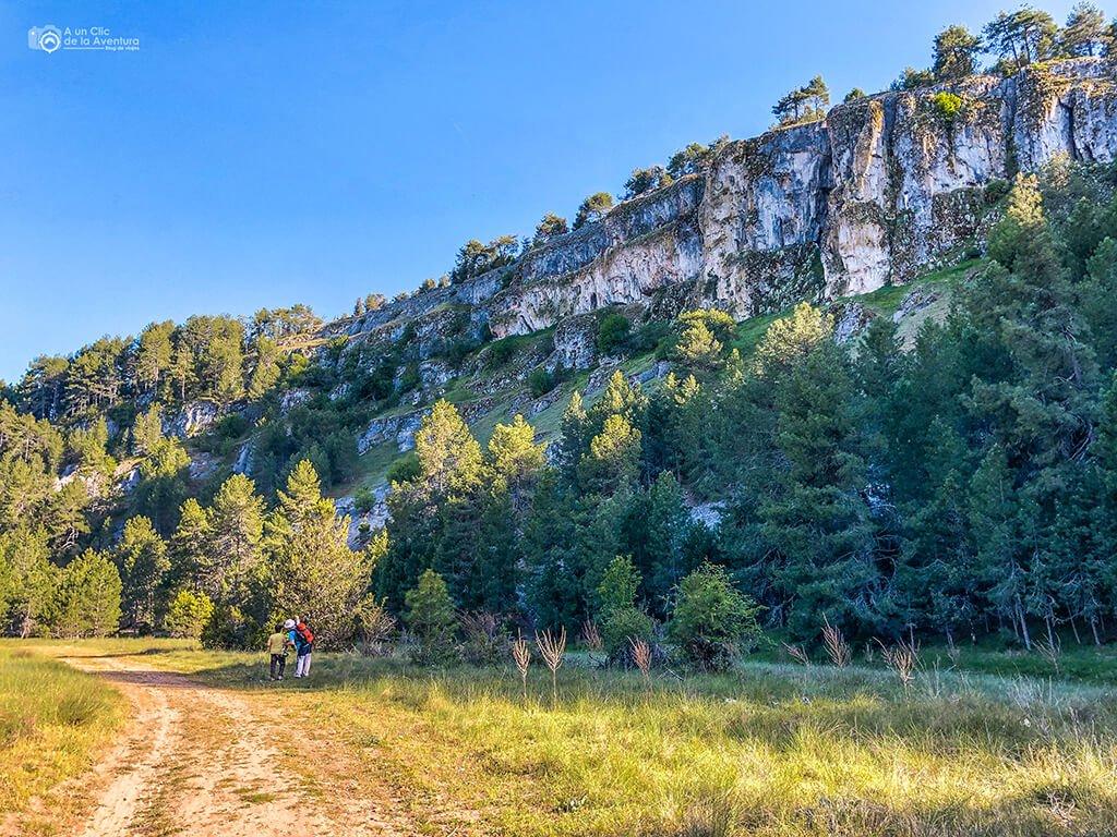 Senda del Río ruta del Cañón del Río Lobos