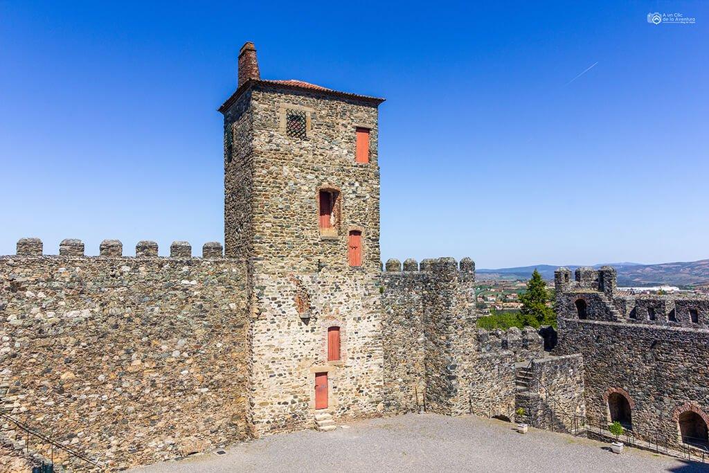 Torre de la Princesa del Castillo de Braganza