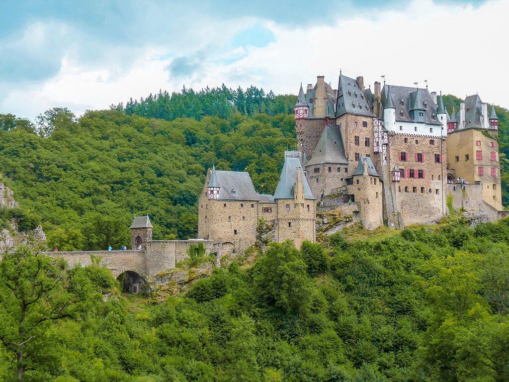 Castillo de Eltz o Burg Eltz, Castillos de Europa