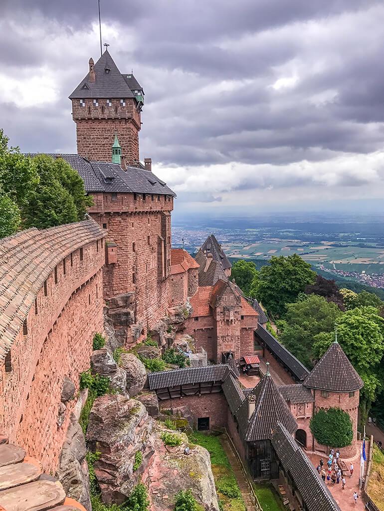 Castillo de Haut-Koenigsbourg, Castillos de Europa