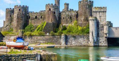 Castillo de Conwy - Castillos de Europa