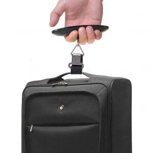 Báscula de equipaje portátil, regalos para viajeros