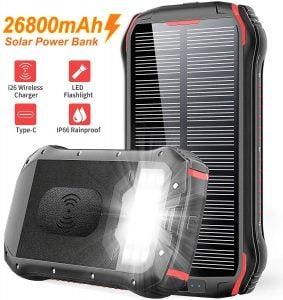 Cargador solar, regalos para viajeros