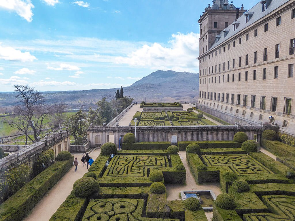 Jardines de El Escorial