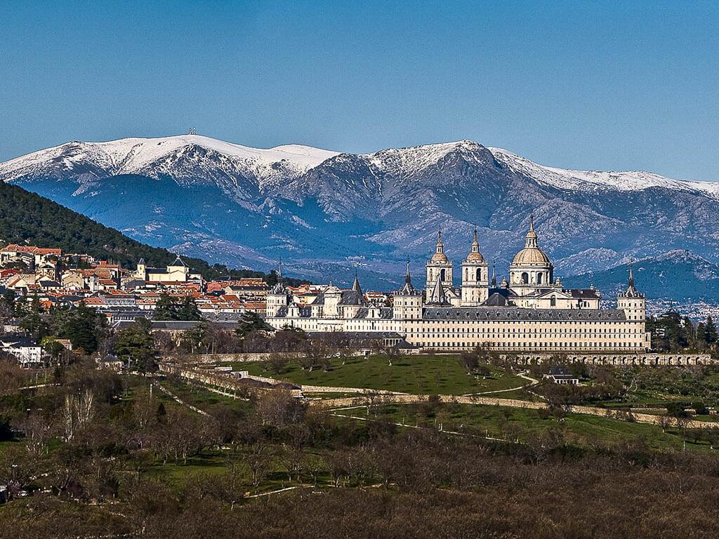 Panorámica - visitar El Escorial
