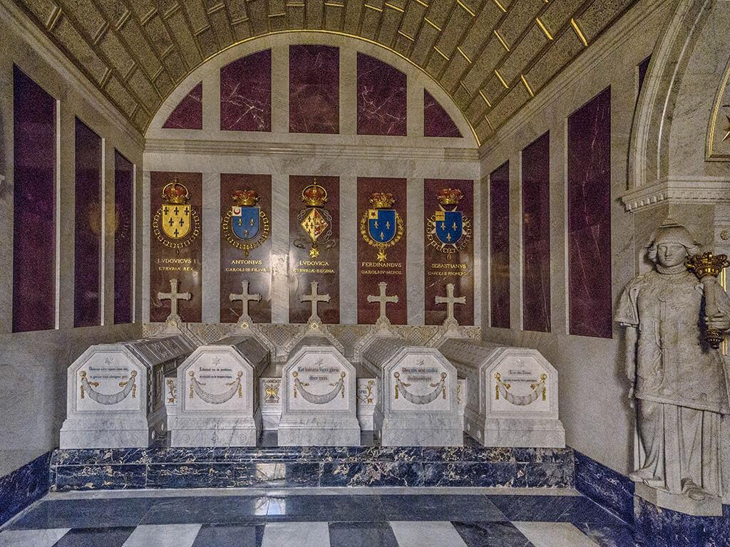 Panteón de los Infantes, El Escorial