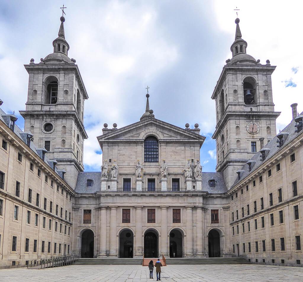 Patio de los Reyes de El Escorial