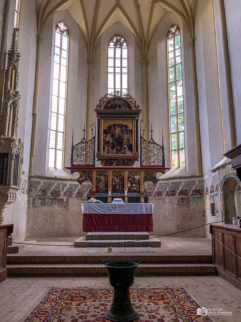 Altar de la Iglesia de la Colina, Sighisoara