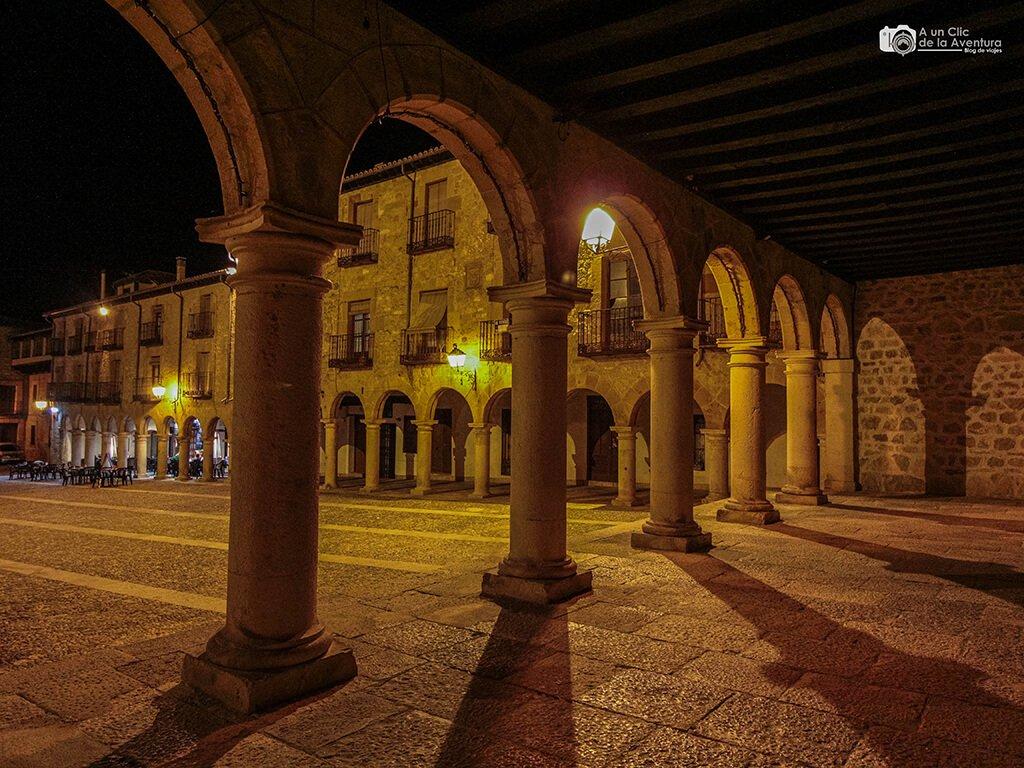 Arcos de la Plaza Mayor de Sigüenza