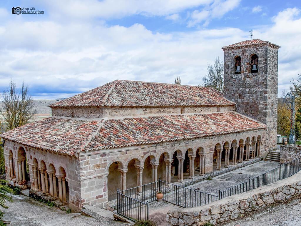 Iglesia románica del Salvador de Carabias