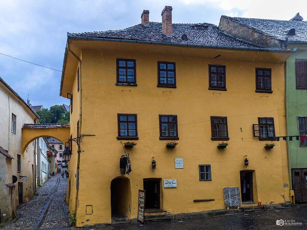 Casa de Vlad Dracul o Drácula en Sighisoara