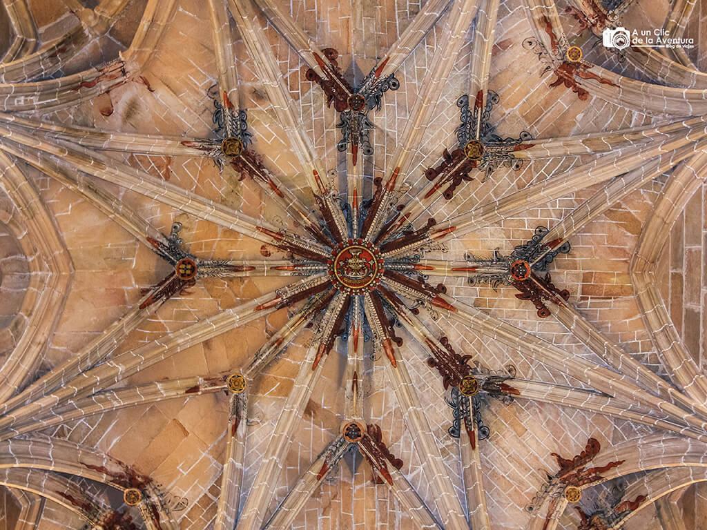 Detalle de la bóveda de la Catedral de Sigüenza