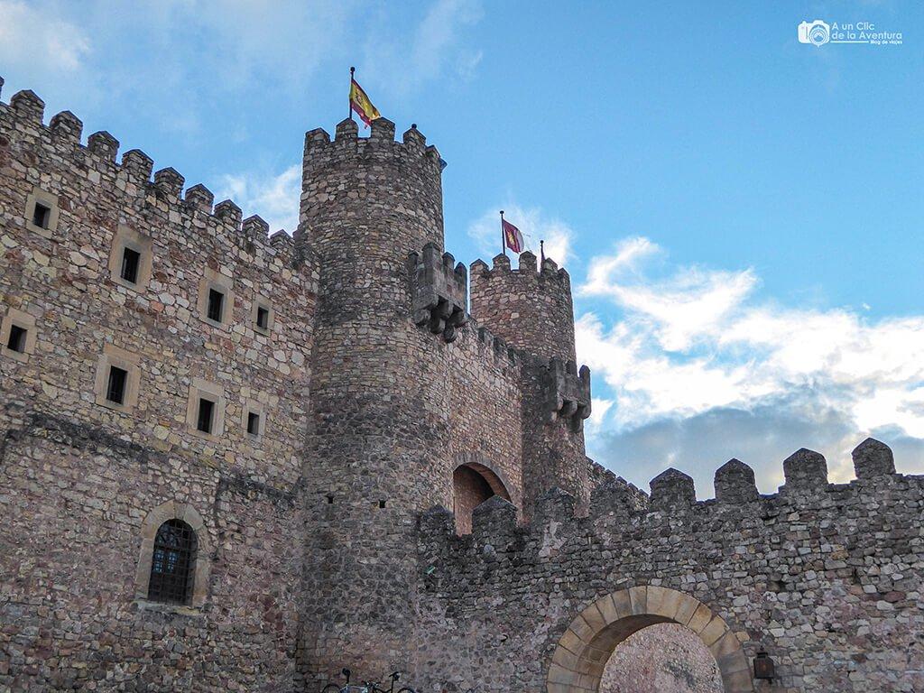 Entrada del Castillo de Sigüenza