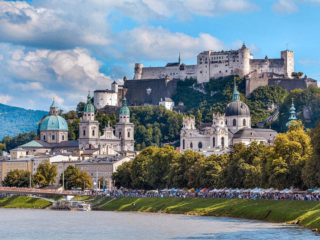 Fortaleza Hohensalzburg de Salzburgo