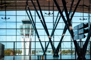 Encontrar parking en el aeropuerto de Santiago de Compostela