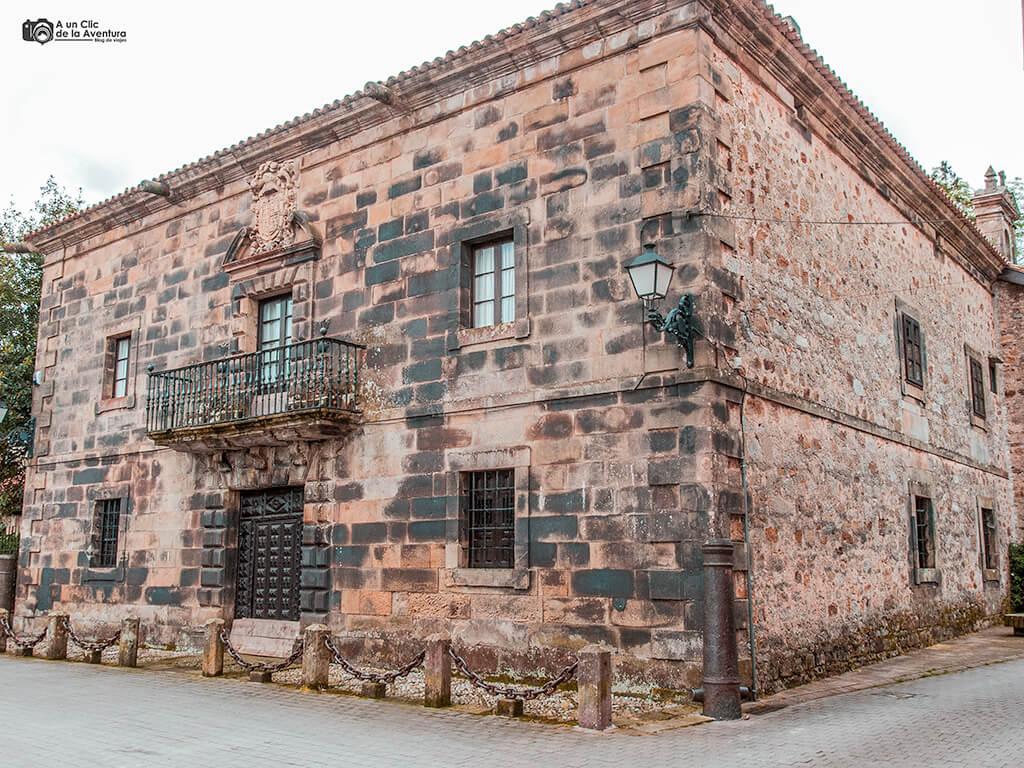 Casa de los Cañones en Liérganes, pueblos pasiegos