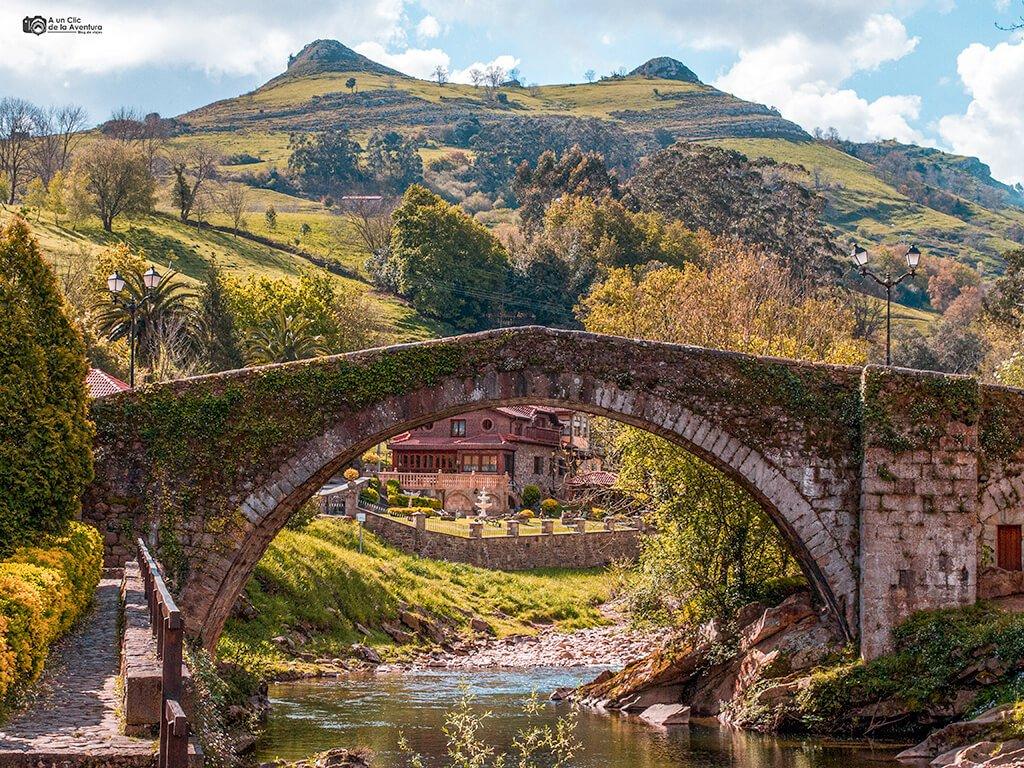 Puente Mayor de Liérganes - pueblos pasiegos