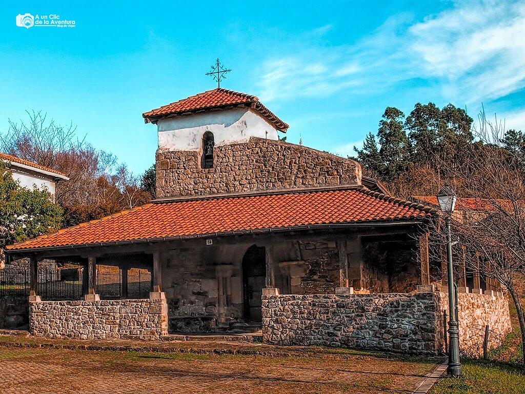 Ermita de San Pelayo - Ruta por la costa vasca