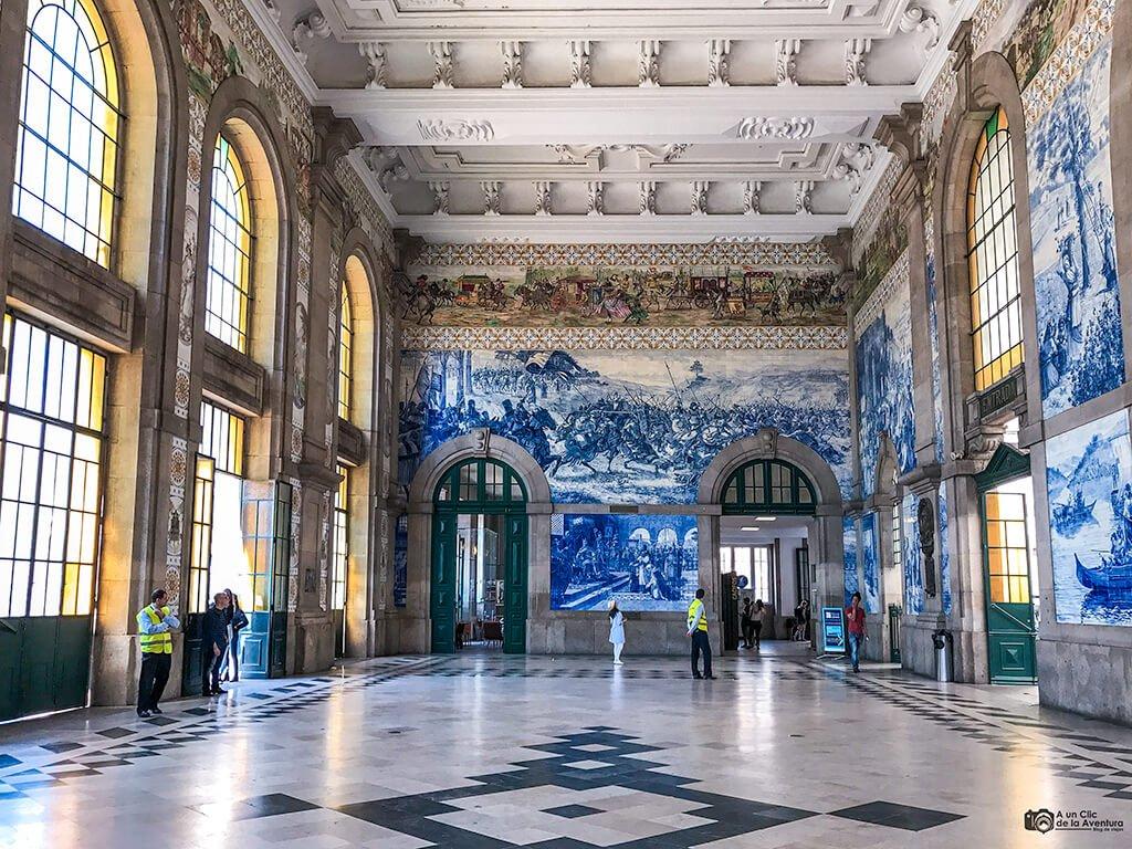 Estación de tren de São Bento, Oporto