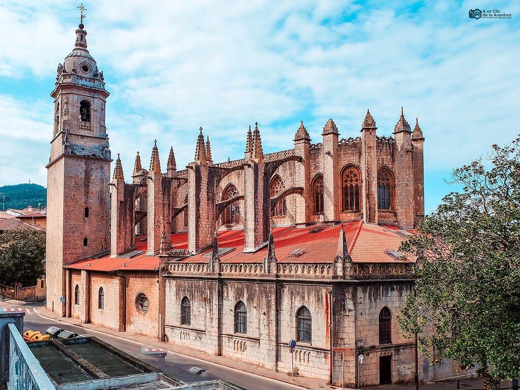 Iglesia de la Asunción de Santa María, Lekeitio - costa vasca