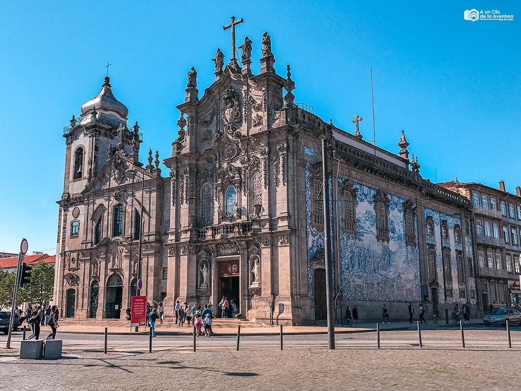 Iglesias del Carmen y de los Carmelitas, Oporto