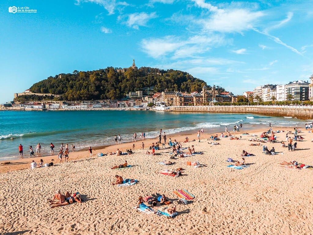 Playa de la Concha, San Sebastian - Donostia