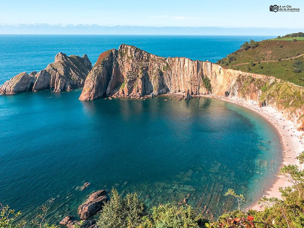 Playa del Silencio o Gaviero, que ver en Asturias