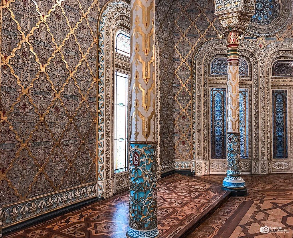 Sala Árabe del Palacio de la Bolsa de Oporto