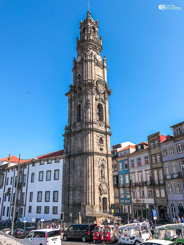 Torre de los Clérigos, Oporto
