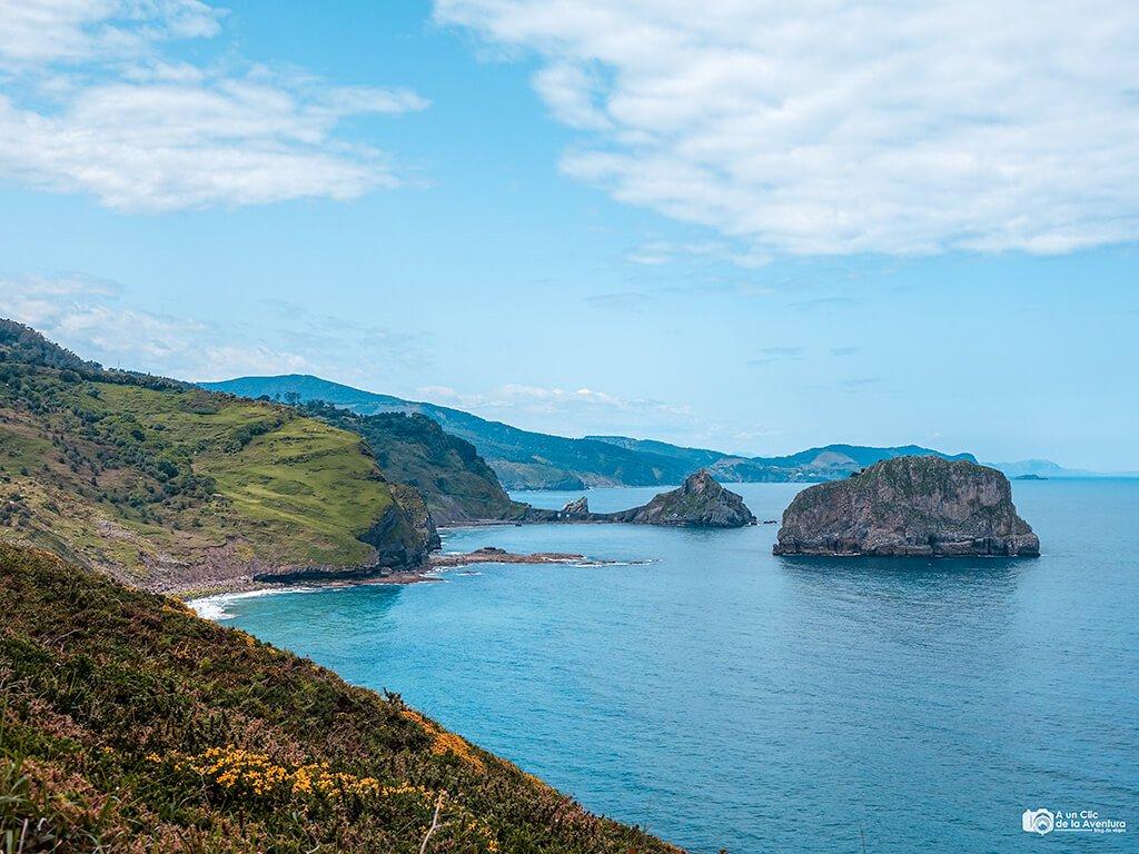 Vistas desde el Cabo Matxitxako - Ruta por la costa vasca