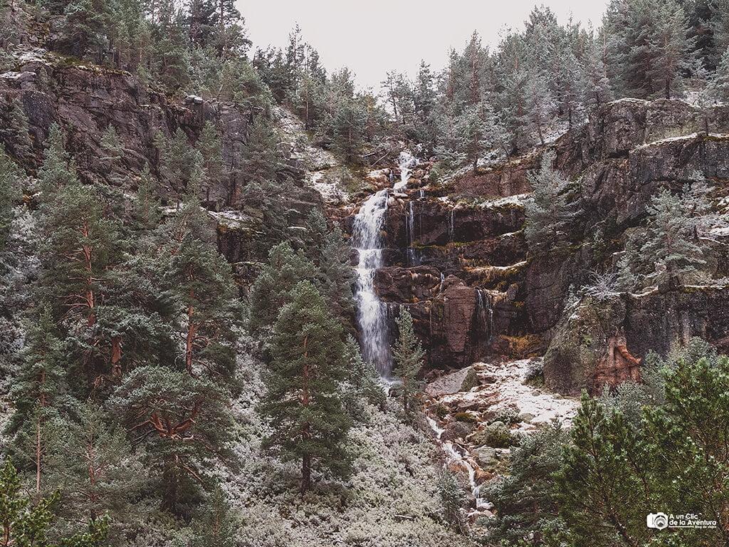 Cascada de las Lagunas de Neila