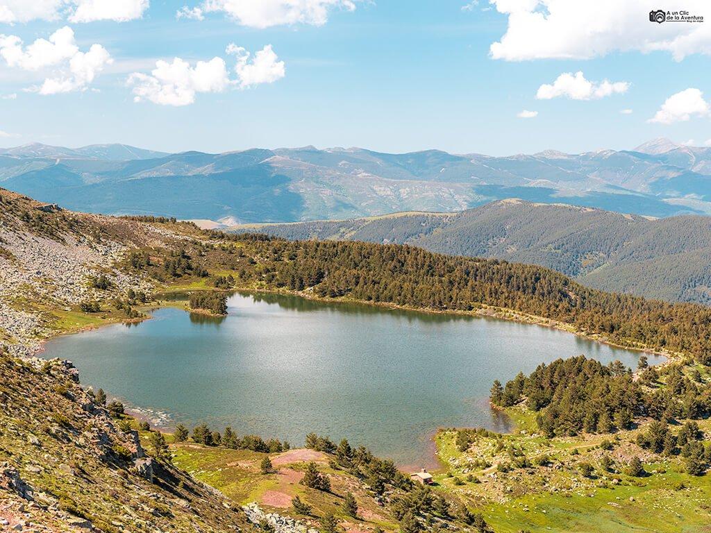 Laguna Negra desde el Campiña